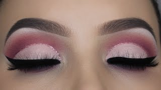 Soft Pink Glitter Cut Crease Tutorial Mp3