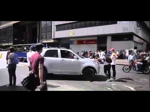 Protest in Cracas demanding release of Venezuelan opposition leader