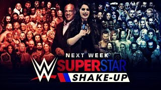WWE SUPERSTAR SHAKE-UP 2018 | PREDICTION