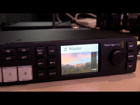 New 2017 Blackmagic ATEM Television Studio HD thumbnail