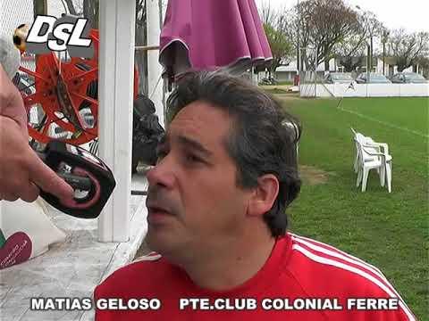 MATIAS GELOSO PTE  CLUB COLONIAL FERRE