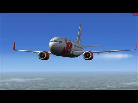 FSX Jet2 737-300 Leeds Bradford to Menorca - YouTube