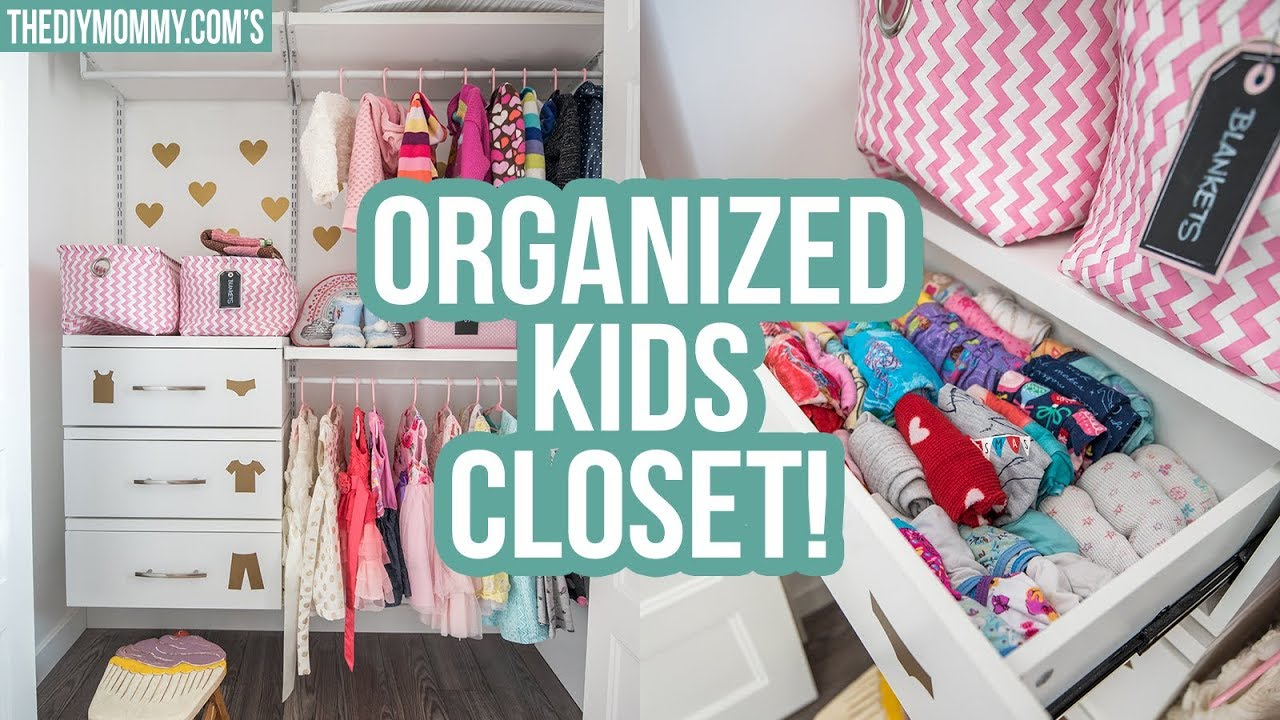 Kids Closet Organization Ideas The Diy Mommy