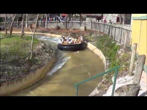 Smokey Mountain River Rampage at Dollywood Off Ride POV