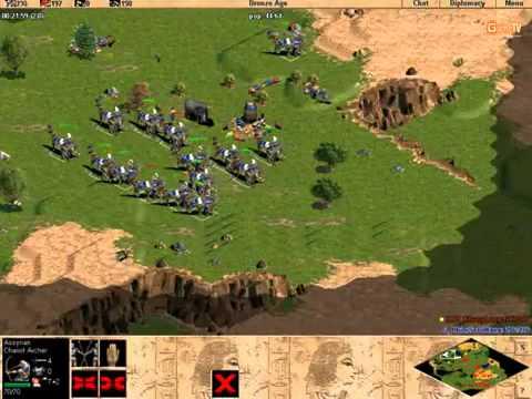 [AOE - Đế chế] ChimSeDiNang vs Khủng long [Solo - Random] Trận 3 - 4/3/2012