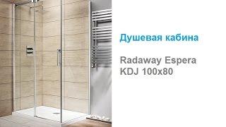 Душевая кабина Radaway Espera KDJ 100x80
