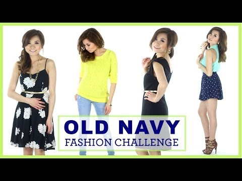 OLD NAVY FASHION CHALLENGE!   Miss Louie