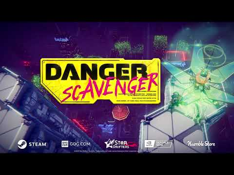 Danger Scavenger Launch Trailer