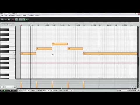 Reaper # 8 - Inserindo escrita Midi (Piano roll)