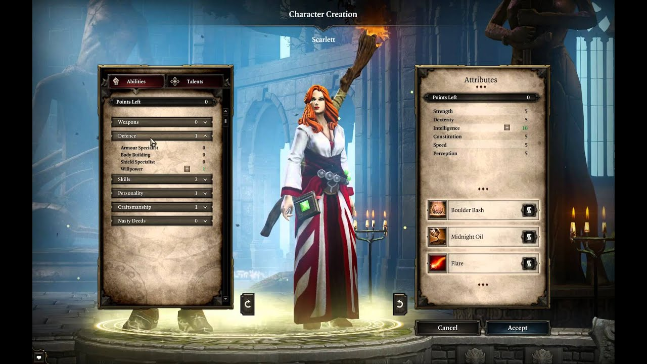 Divinity Original Sin Enhanced Edition Characters Creation Development Guide Youtube