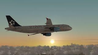 FSX 2015 HD Flight Simulator X Austrian A320 Copenhaga ( EKCH ) Viena ( LOWW )