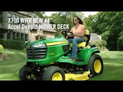 New John Deere Riding Lawn Equipment for 2016