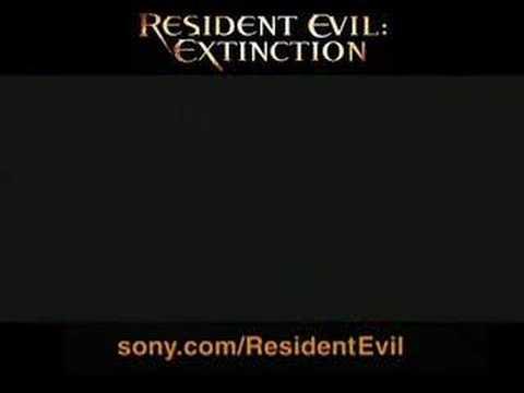 RESIDENT EVIL EXTINCTION trailer