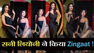 Sunny Leone and Her Husband Daniel Weber 'Zingaat' Dance Video | Wax Statue Madame Tussauds