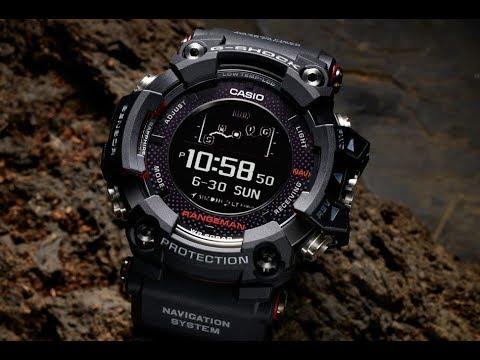 acc743329bec Reloj G-Shock GPR-B1000 Rangeman militar - YouTube