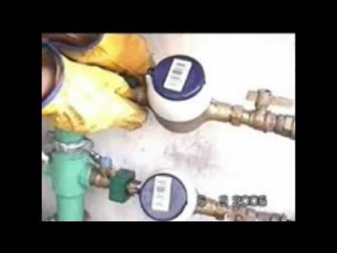 comment ouvrir un compteur d'eau? - youtube