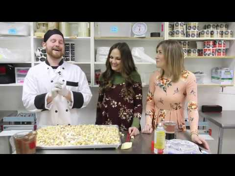 It's National Popcorn Day and we have a hot chocolate popcorn recipe from Lisa's Passion for Popcorn