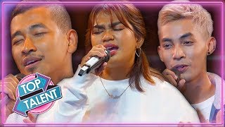 Top 5 Auditions on X Factor Cambodia | Top Talent