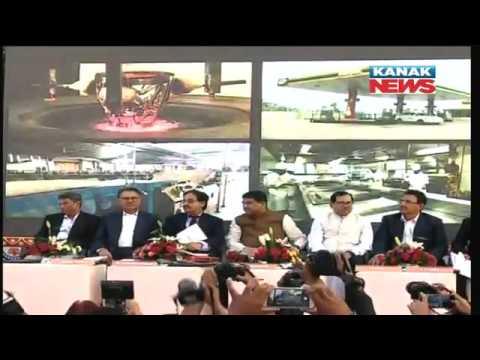 Dharmendra Pradhan Inaugurates Odisha's First CNG Station In Bhubaneswar