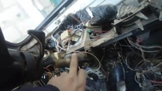 Как заменить панель приборов ВАЗ 2106