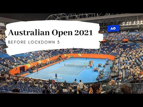 Australian Open 2021 Vlog |  Before Melbourne lockdown 3.0