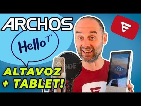 ARCHOS HELLO 7 - Tablet asistente Google Home - REVIEW ESPAÑOL