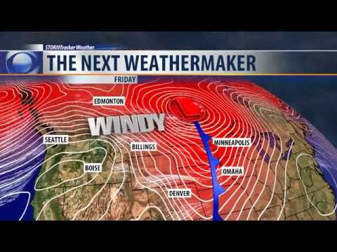 Record-breaking temperatures and powerful winds for Thanksgiving