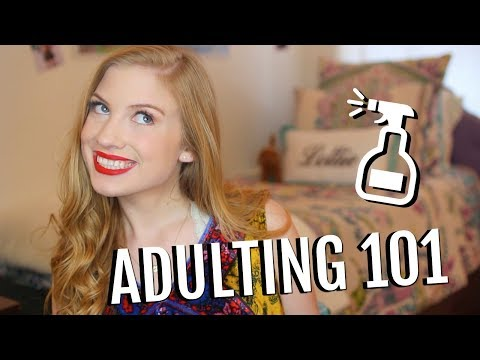 HOW TO ADULT - what college taught me about being a grown-up!!