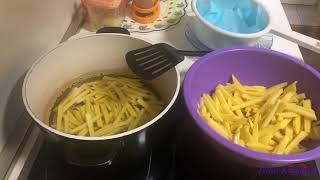 Картофель фри Рецепт Как приготовить картошку ФРИ