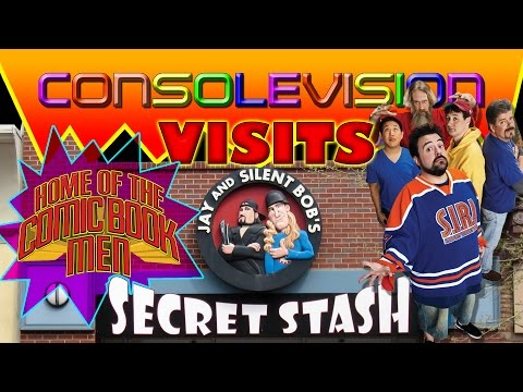 """Consolevision Events: A visit to """"Jay and Silent Bob's Secret Stash""""!"""