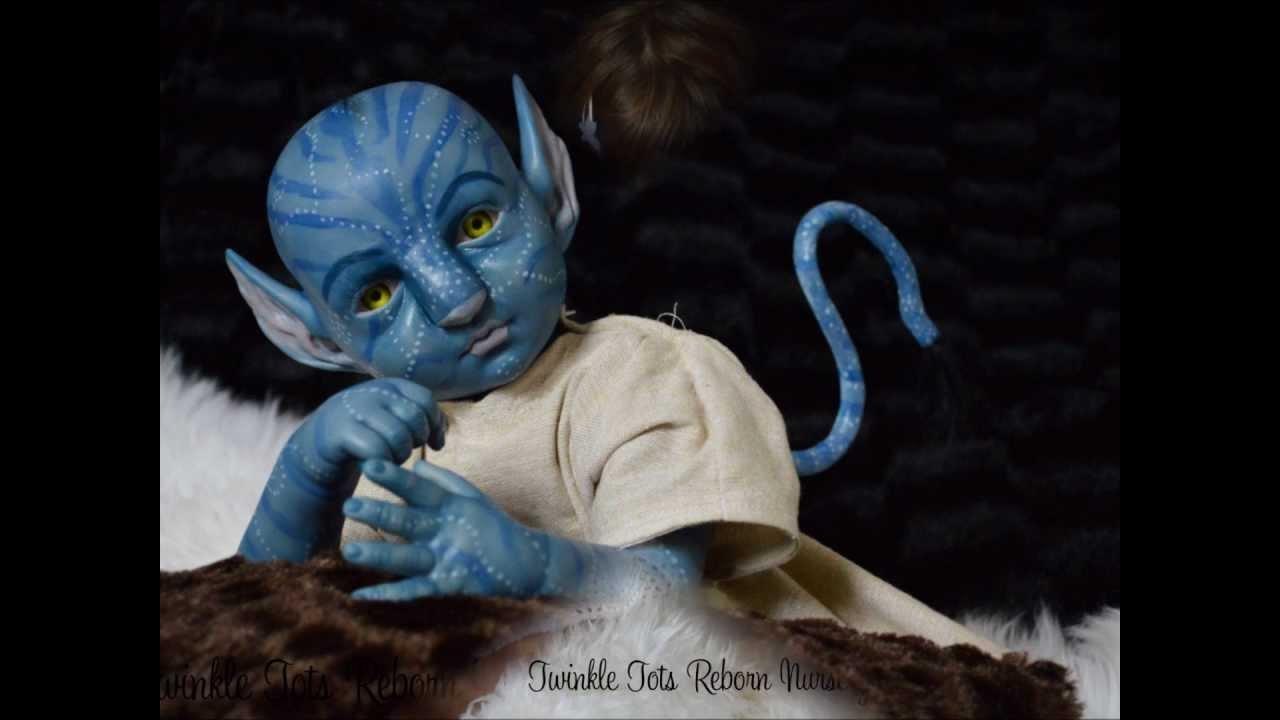 Avatar Inspired Na Vi Reborn Baby Twinkle Tots Reborn