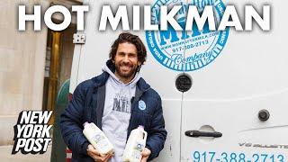 Meet the hot milkman driving NYC ladies to drink — milk | New York Post