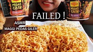 ASMR SEAFOOD TOMYAM MAGGI PEDAS GILER (NO TALKING, JUST EATING) MALAYSIA ~ STARDUST ASMR