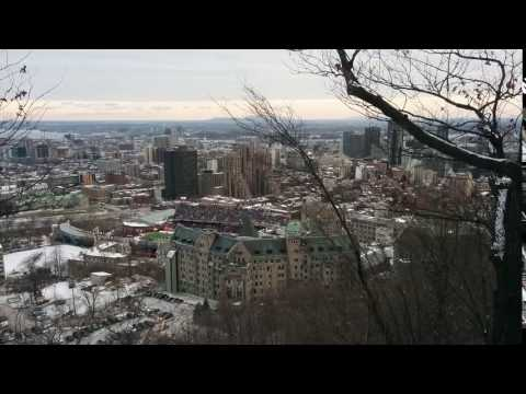 View of Montréal from Mount Royal