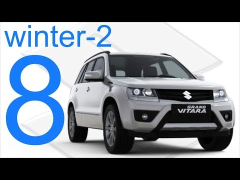Suzuki Grand Vitara 4x4 Winter 2 Offroad Part 8