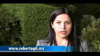 Norma Leticia Salazar apoya a Roberto Gil