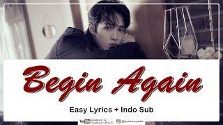 KIM JAEHWAN - BEGIN AGAIN Easy Lyrics by GOMAWO