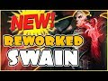 REWORKED SWAIN IS A SITH LORD!! GOOD JOB RIOT! New Reworked Swain Mid Gameplay - PBE