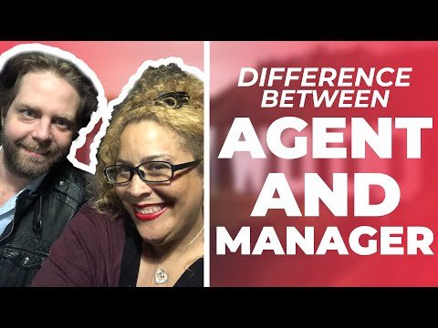 Difference between a Talent Agent and Manager