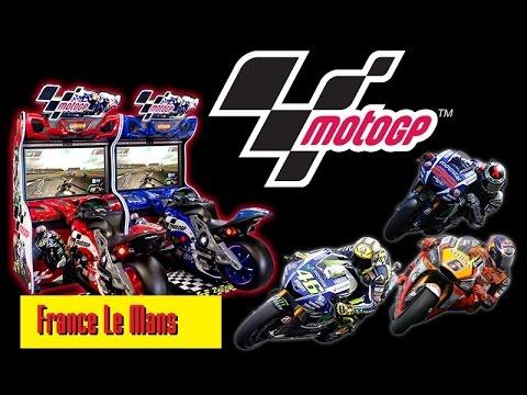 moto gp arcade superbikes le mans repsol honda race youtube. Black Bedroom Furniture Sets. Home Design Ideas
