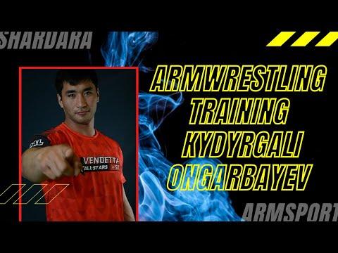 Training of the Kazakhstan athlete - Kydyrgali Ongarbayev
