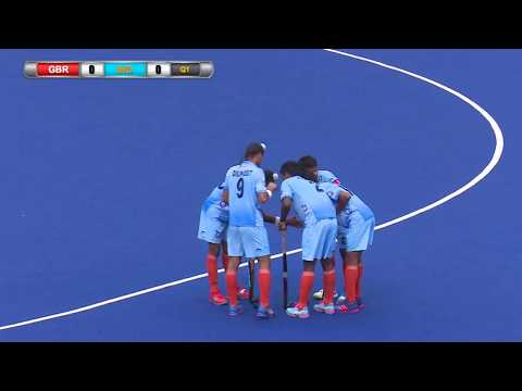 Great Britain v India Day 5 Sultan of Johor Cup Hockey 2017