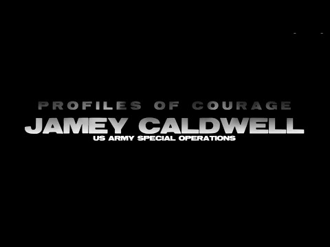 Profile Of Courage   Jamey Caldwell