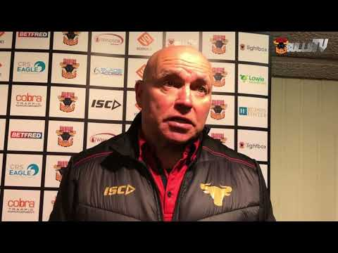 Post-match press conference - Keighley Cougars - 11/3/18