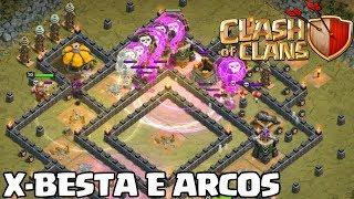 NOVAS FASES DO MAPA DO MODO CAMPANHA NO CLASH OF CLANS - X-BESTA E ARCOS ‹ Fernando099 ›