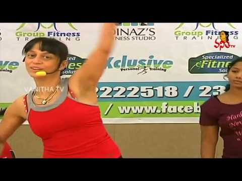 Dinaz`s Healthy warm-up workouts for Women | Vanitha TV