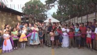 Inauguran adoquinado en el barrio Santa Rosa de Masaya