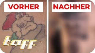 FETTE ARIELLE mit BRUSTWARZEN-TATTOO covern? Cover Up mit Ronja Block | taff | ProSieben