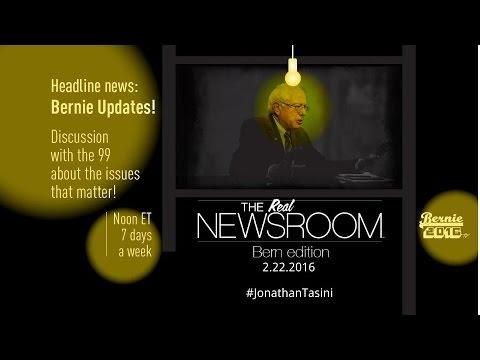 The Real News Room - Bern Edition - 2.22.2016