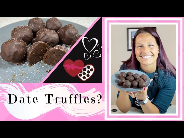 DOCTOR MAKES EASY DATE CHOCOLATE TRUFFLES